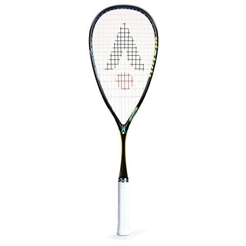 Karakal Raw-120 - Raqueta de Squash Unisex, Color Negro, Talla única