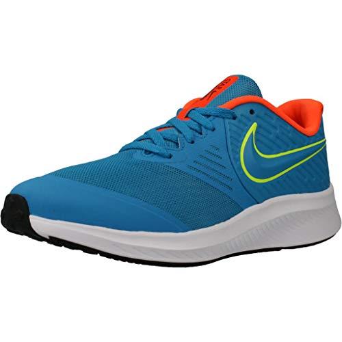 Nike Unisex-Erwachsene Star Runner 2 (GS) Trailrunning-Schuh, Azul, 38 EU