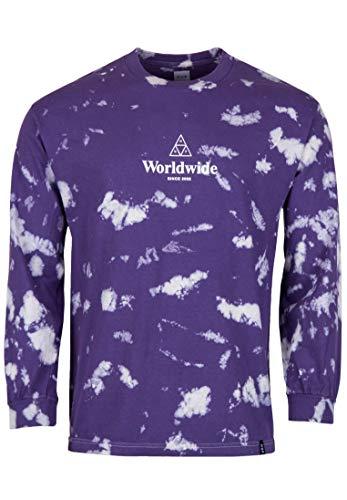 HUF Herren Langarmshirt TT Worldwide Tiedye Long Sleeve T-Shirt