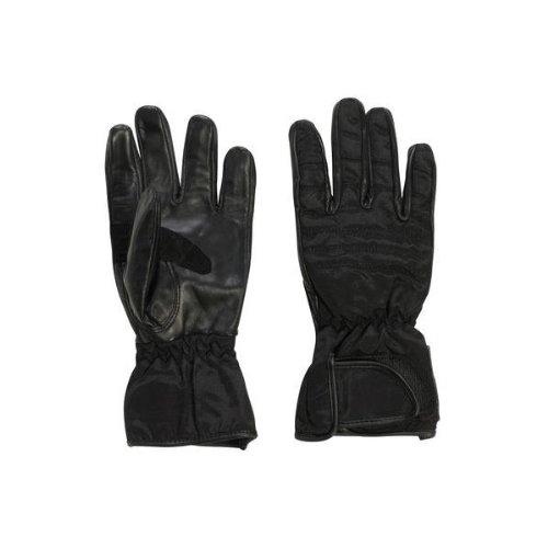 Bottari Spa Cobra Gants en Cuir et Tissu, Noir, XL
