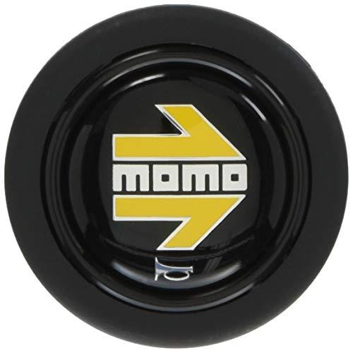 MOMO(モモ) ホーンボタン YELLOW ARROW BLACK HB-01