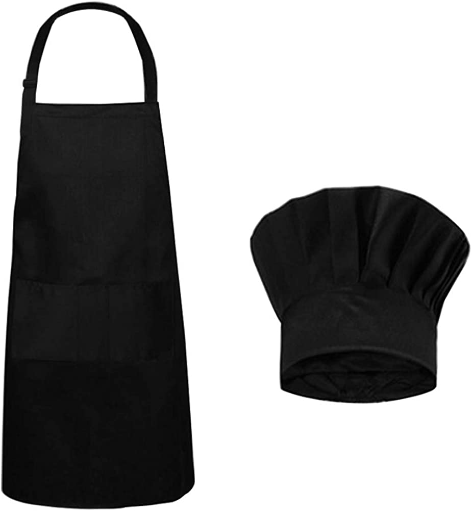 Colorado Springs Mall SourceTon Houston Mall Apron Chef Hat Adjustable Set with Kitchen