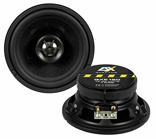 ESX QXE120 W124-12cm Koax Lautsprecher | ideal für Mercedes Benz W124