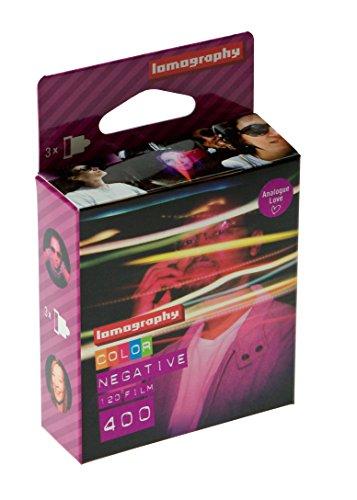 3 Películas color negativo Formato 120 / 400 ISO - Lomography