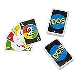 juego de mesa de 2 a 10 jugadores, pensado para que se desafíen entre ellos individualmente o por equipos el objetivo del juego es ser el primero en quedarse sin cartas, pero en esta versión, los jugadores deben gritar dos cuando les queden 2 cartas ...