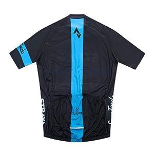 YFFS Maillot Ciclismo Corto De Verano para Hombre, Culotte con 9D Almohadilla De Gel para Ropa Culote Conjunto Traje Culotte Deportivo Bicicleta MTB Ciclista Bici (4,XL)