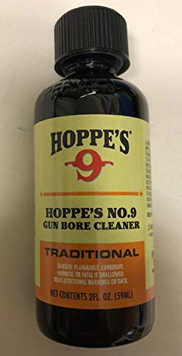 Hoppes #9 Bore Solvent Gun Cleaning Solution 2 Oz Size