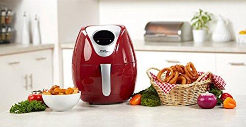 Power Air Fryer XL 3.4 QT Deluxe Red Air Fryer