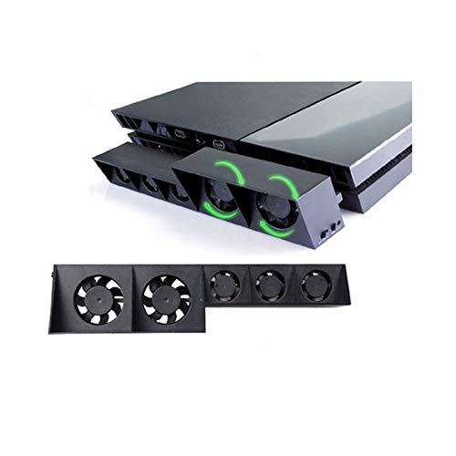 Ventilador de refrigeración turbo para Sony Playstation 4, consola de juego, externo, USB, circulación de aire, temperatura