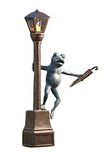 SPI Garden Streetlight Frog Lantern
