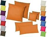 Home-Impression Doppelpack / 2er Set Microfaser Kissenhüllen/Kissenbezüge - Wohndekoration in...