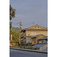 ジグソー小山村風景パズル木製ボーイガールフレンドロマンチックギフト-660086(Size:1500 pc)