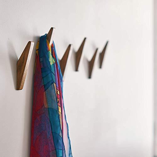 DABA - Perchero de Pared para habitación de Entrada, Color marrón