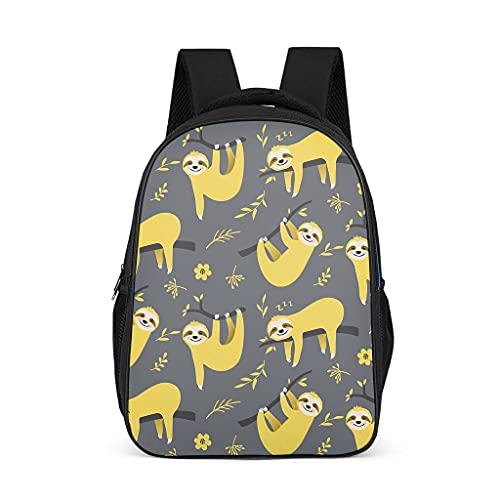 Lindo perezoso mochila impermeable regalos para niños adolescentes estudiantes para camping casual