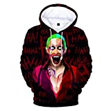 BOGIRY Pullover 3D Sudaderas Capucha Ropalos Deportes Suéter Estampado HD Anime Costume De Cremallera Unisex Camiseta De Béisbol Tops All Saints' Day M