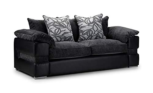 Honeypot - Sofa - Serene - 3 Seater - 2 Seater - Large Corner - Faux Leather/Fabric (3 Seater)