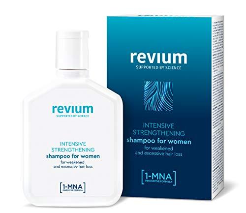 Revium, shampoo intensivo anticaduta, da donna, con molecole 1-MNA, 200 ml