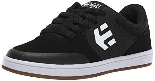 Etnies Unisex-Kinder Kids Marana Skateboardschuhe, Schwarz (968-Black/Gum/White 968), 38 EU (5 UK)
