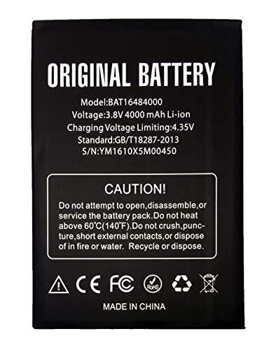 Bateria Compatible con Doogee X5 MAX / X5 MAX Pro | 4000mAh | BAT16484000 |