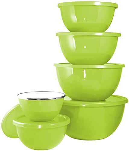 Reston Lloyd Calypso Basics 12-Piece Bowl Set, Lime by Reston Lloyd