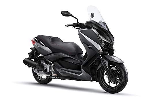 Coprisella specifico SKY nero Yamaha X-Max 125 250 300 400 dal 2014 al 2020 rivestimento simil pelle copre strappi usura protegge da agenti esterni