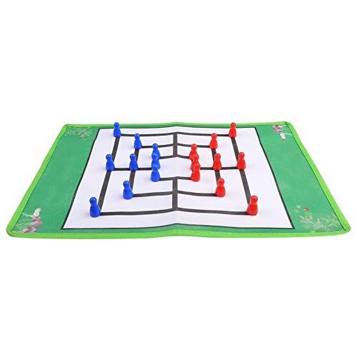 KUQIQI Juego de Mesa Durable niños Intelectual Juego del Molino Juego de Mesa Juego de Accesorios de Juegos de Mesa Padres e Hijos: Amazon.es: Hogar