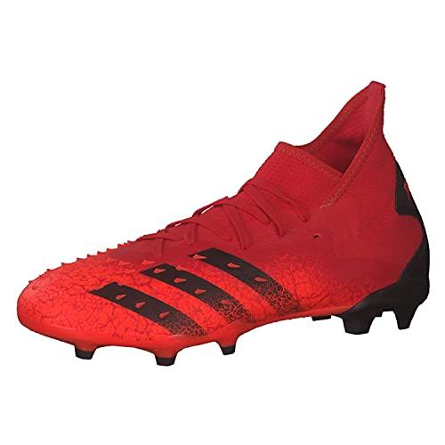 adidas Predator Freak .2 Fg, Scarpe da Ginnastica Uomo, Rosso (Negbás Rojsol), 44 EU