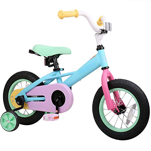in budget affordable JOYSTAR 16-inch children's bicycle for girls aged 4, 5, 6 and 7 years, children's bicycle with learning bicycle for 4-7 years.