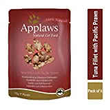 Heads Up For Tails Applaws Natural Cat Food Tuna Fillet with Pacific Prawn