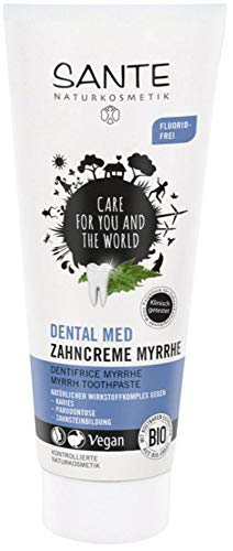 Sante Bio DENTAL MED Zahncreme Myrrhe (6 x 75 ml)