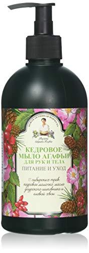 Grandma Agafia's Recipes Savon liquide naturel de cèdre pour les mains et le corps Nutrition & Soins 500 ml