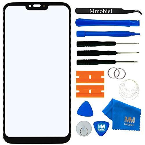 MMOBIEL Kit de Reemplazo de Pantalla Táctil Compatible con Motorola Moto G7 Power 2019 6.2 Inch (Negro) Incl útiles