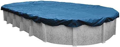 Robelle 351224 4 Super Winter Pool Cover for Oval Above Ground Swimming Pools 12 x 24 ft Oval product image