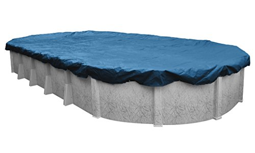 Super Winter Pool Cover for Oval Above Ground Swimming Pools, 21 x 41-ft. Oval Pool - Robelle 352141-4