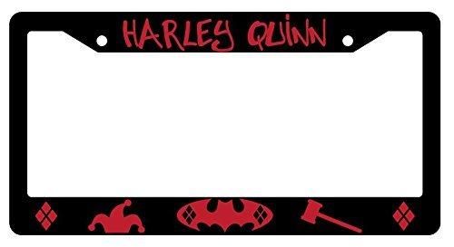 41Ppvxx9jvL Harley Quinn License Plate Frames