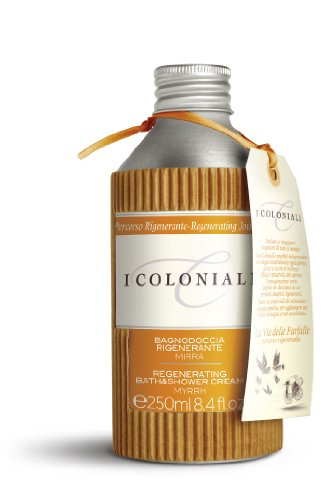 I Coloniali Bagnodoccia Rigenerante Mirra di Atkinsons, Bagnoschiuma Unisex - Flacone 250 ml.
