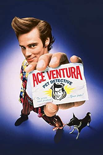 znwrr Ace Ventura Movie Posters Jigsaw Puzzle 1000 Piezas Rompecabezas clásico para Adultos y niños, Juguetes educativos de Habilidad, Regalo de cumpleaños, Festival, 38 x 26 cm