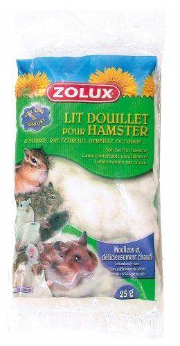 Zolux - Cama para Mascotas pequeñas, 25 g, Color Blanco