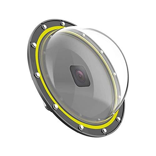 N-brand Cubierta Transparente para cámara para Hero8 Domo Máscara de Buceo Parasol de Lente de Agua Bola de protección de Tiro subacuático con Carcasa Impermeable