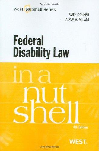 Federal Disability Law in a Nutshell (Nutshells)