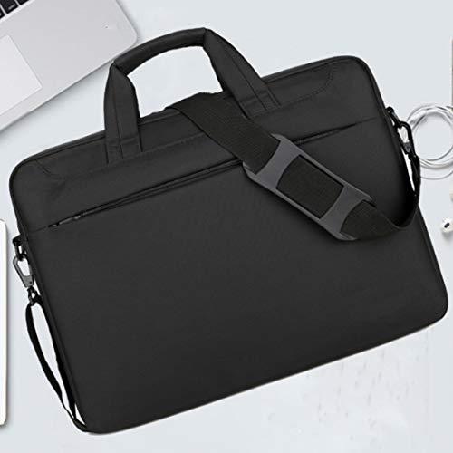 DLMPT Waterafstotende Zakelijke Notebook Laptop Sleeve Bag 360 Beschermende Laptop Schoudertas voor Acer HP Pavilion Dell Inspiron Laptop Notebook Sleeve Draagtas