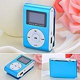 murieo Mini Lettore MP3Clip USB Radio FM Supporto schermo LCD per 32GB con micro SD cardre