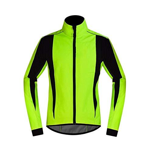 Chaqueta de ciclismo de invierno para hombre de forro polar para bicicleta MTB ropa reflectante