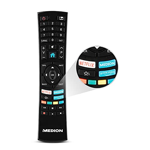 MEDION X15511 138,8 cm (55 Zoll) UHD Fernseher (Smart-TV, 4K...