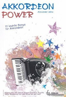 Noten AKKORDEON POWER Alexander Jekle 77 Songs Akkordeon Purzelbaum 979050246145