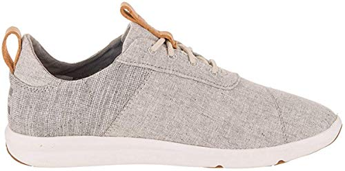 TOMS Women Cabrillo Drizzle Grey, Sneakers Basses Femme, Gris 000, 40 EU