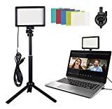 Video Conference Lighting kit with Adjustable Tripod/Color Filter...