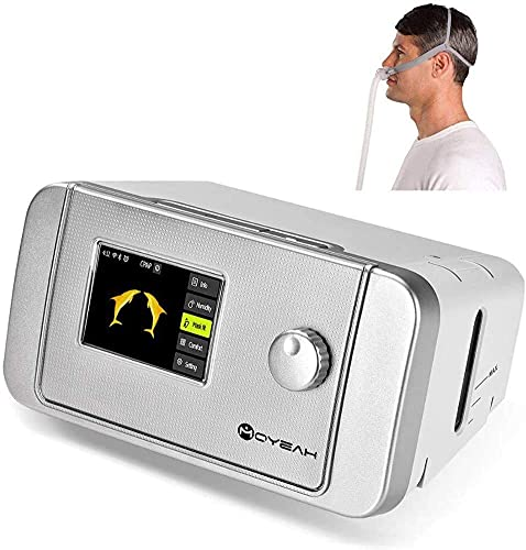 POEO Machine Anti-ronflement de Machine CPAP, Machine d'apnée du Sommeil, Dispositif Anti-ronflement portatif d'appareil CPAP pour l'apnée du Sommeil, Machine Anti-ronflement Multifonction
