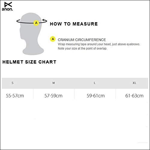 anon(アノン)アノンヘルメットライダー19-202020AnonRaider3asiaアジアンフィットBlackスノーボードヘルメットanonスノボーヘルメットアノン【C1】L(59-61cm)