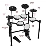 9-Piece Electronic Mesh Drum Set Jazz